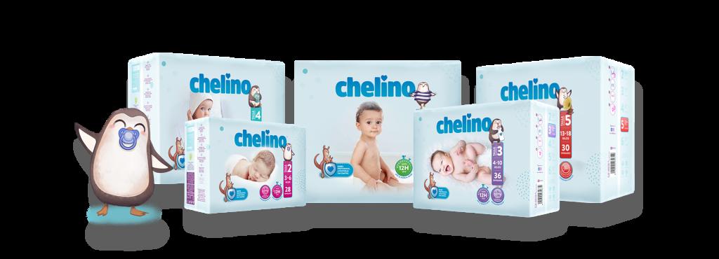 Bodegón de productos Chelino