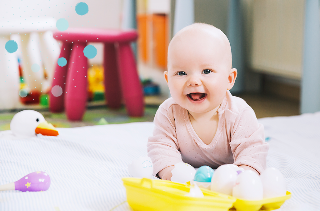 Actividades para niños de hasta 6 meses