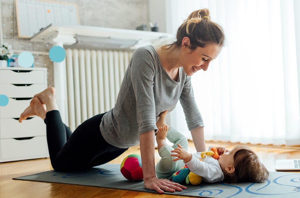 BABYYOGA. Beneficios y posturas para practicar en familia